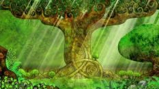Tree from The Secret of Kells